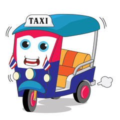 TukTuk – Rickshaw – Thai Traditional Taxi