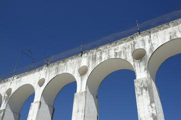White Arches at Arcos da Lapa Rio de Janeiro Brazil
