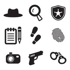 Detective Icons