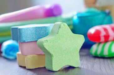 color soap