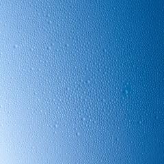 Blaue Regen tropfen