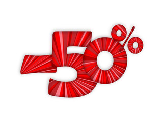 """-50%"" (off sale shop store marketing advertising)"