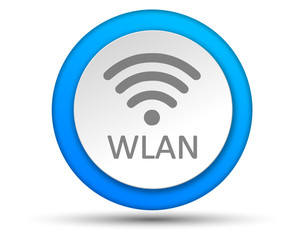 Button blau WLAN