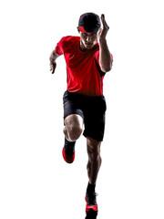 runner jogger running jogging silhouette