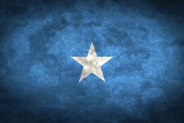 Somalia grunge flag