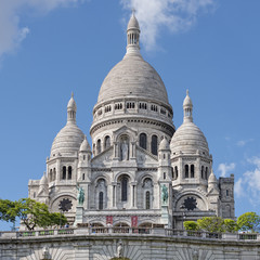 Paris montmartre Cathedral