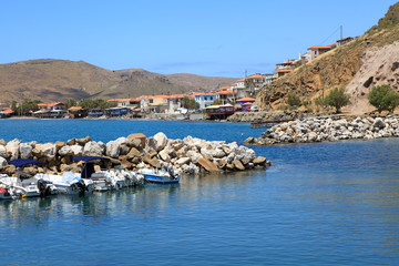 Skala Eressos, Lesbos