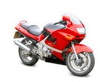Fototapety motorcycle isolated