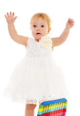 very small beautiful girl