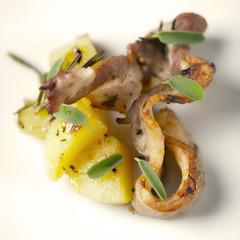 carne arrosto con patate al forno