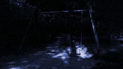 Ghosts on empty swings.