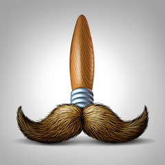 Artist Moustache Brush
