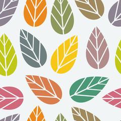 Seamless leaf texture