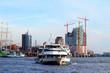 canvas print picture - Hafenrundfahrt vor Kehrwieder