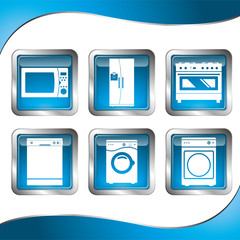 Icons Household Appliances
