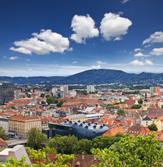 The Austrian city Graz - capital of Styria