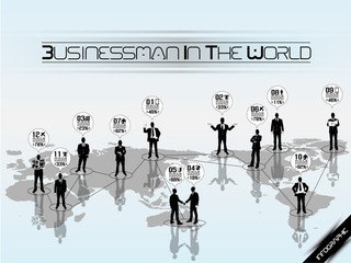BUSINESSMAN CONCEPT BUSINESS WORLD