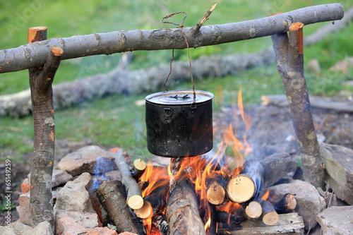 smoked tourist kettle
