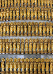 Lots Golden Statue of Guan Yin