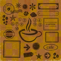 カフェデザインセット