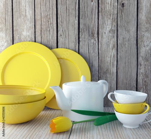 Ceramic kitchen utensils.