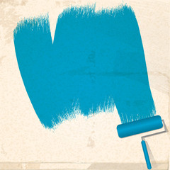 paint and roller background