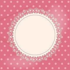 lace doily background