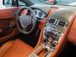 Sportscar dashboard interior - 65151268