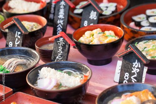 Tuinposter Japan Traditional market in Japan.