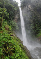 Machay waterfall (known aswell as El Rocio waterfall)