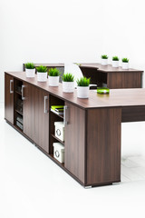 tables and bookcase