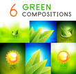 Mega collection of green summer concepts