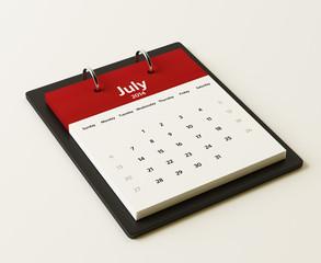 2014 July Calendar Planning
