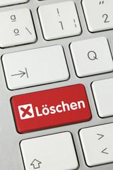Löschen. Tastatur