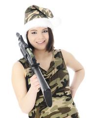 Ms. Santa's Got a Gun