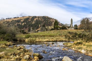 Round Tower Glendalough Ireland
