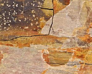 pattern on stone