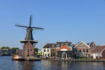 Typical Dutch scenery