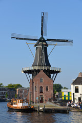 Typical Dutch scenery