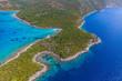 Adriatic landscape at Peljesac peninsula