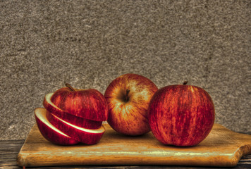 Apples in hdr