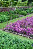 Formal garden at Kensington Palace poster