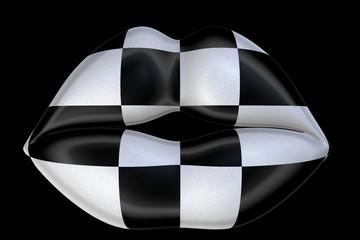 Checker Kiss