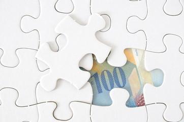 Puzzle Schweizer Franken
