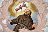 St. Franziskus, Deckengemälde