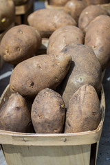 box of potatoes