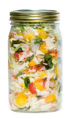 cultured or fermented vegetables