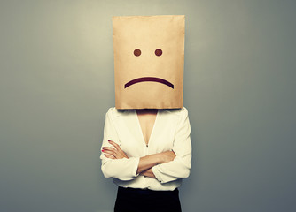 woman have a bad mood