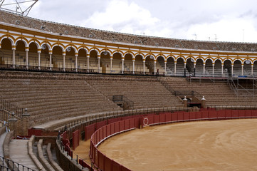 The bullring, La Real Maestranza of Seville,