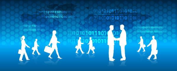 silhouette, mondo dati...